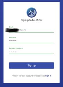 Установка системы для майнинга Mr Miner